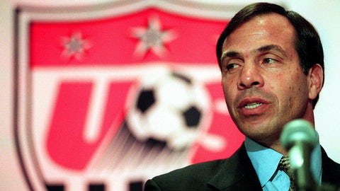October, 1998 — Bruce Arena hired to replace Steve Sampson