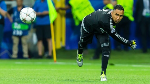 GK: Keylor Navas, Real Madrid