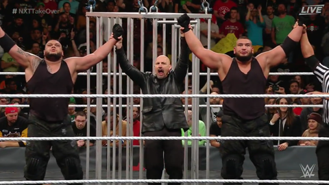 The Authors of Pain defeated TM-61 to win the Dusty Rhodes Tag Team Classic