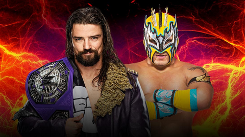Brian Kendrick vs. Kalisto for the Cruiserweight Championship
