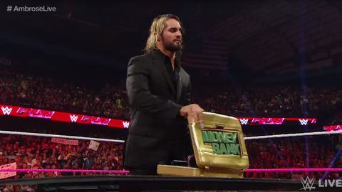 The Money In The Bank briefcase
