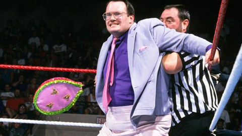 Jim Cornette's tennis racket