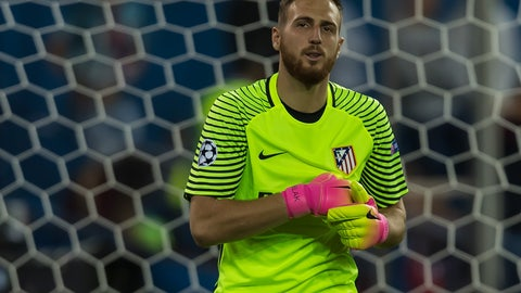 GK: Jan Oblak, Atletico Madrid