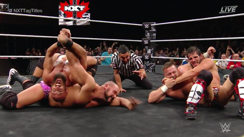 DIY defeated The Revival to win the NXT Tag Team Championship