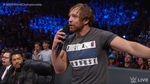 Men's 5v5 - Team SmackDown: Dean Ambrose