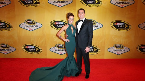 Kyle Busch and wife Samantha, 2015