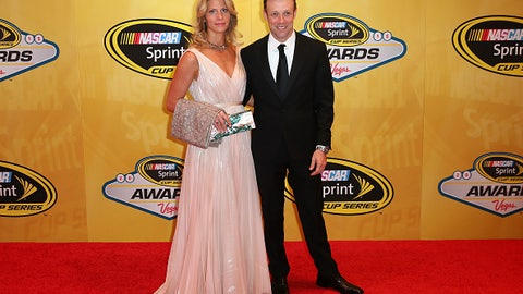 Matt Kenseth and wife Katie, 2015