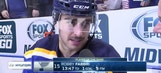 Fabbri gets a goal, a fight and a big ol' knot on his forehead