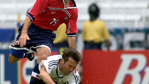 August 1999 — Bronze at the Confederations Cup
