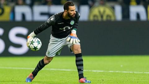 GK: Rui Patricio, Sporting Lisbon