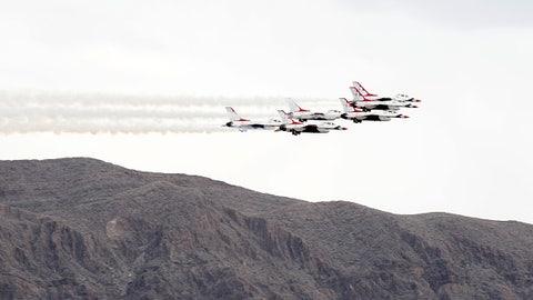 Flyover formation