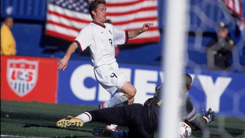 October 2001 — U.S. qualifies for 2002 World Cup at home