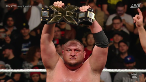 Samoa Joe defeated Shinsuke Nakamura to win the NXT Championship