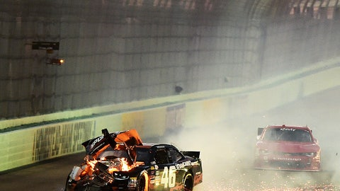 Wrecking at Homestead