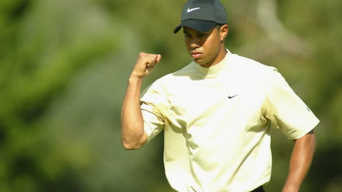 Here's the thing: It really doesn't matter where Tiger finishes