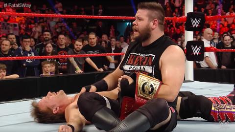 Men's 5v5 - Team Raw: Kevin Owens