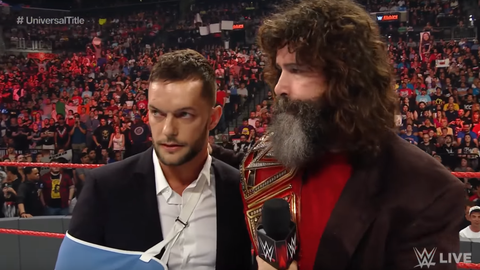 FS: One person who likely would have played a huge part in Survivor Series if not for injury is Finn Balor. Have you been keeping in contact with him during his recovery?