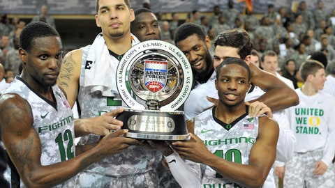 Oregon (2013 Armed Forces Classic)