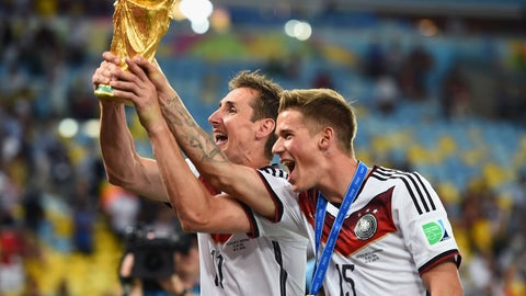 2014 — A World Cup champion