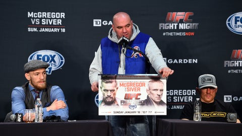 """My thoughts on Dennis Siver is that he's a midget German steroid-head."""