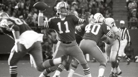 49ers: QB Steve Spurrier (No. 3, 1967)