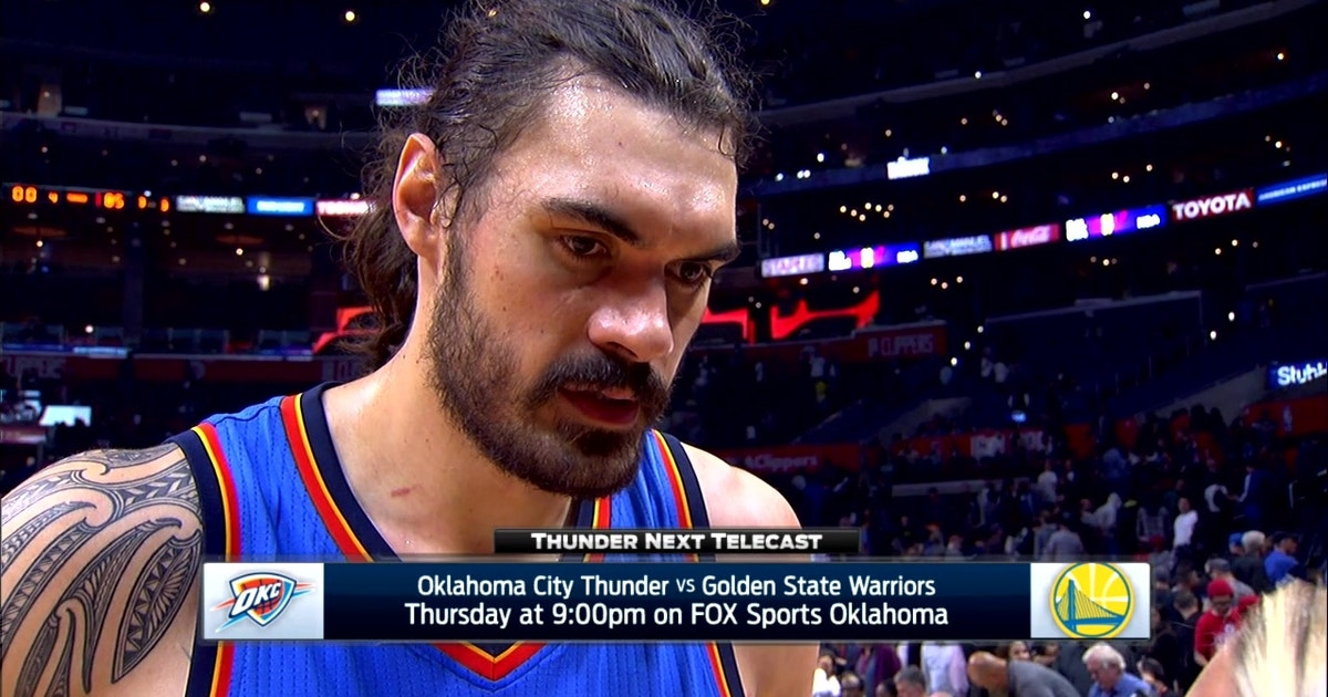 Steven Adams Gives Kudos To Coaches On OKC Win
