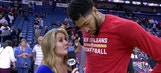 Anthony Davis scores 41, Pelicans defeats Lakers