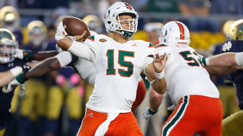 Miami Hurricanes (6-4)