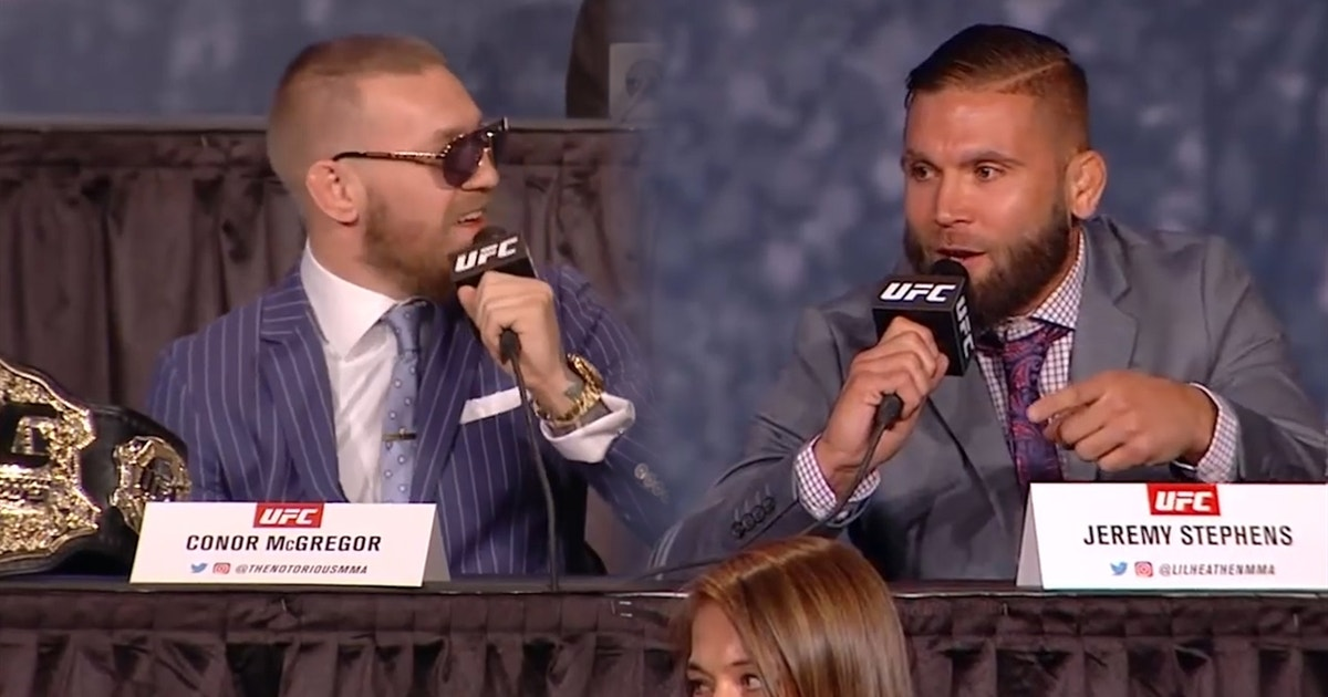 Mcgregor who the fuck is that guy