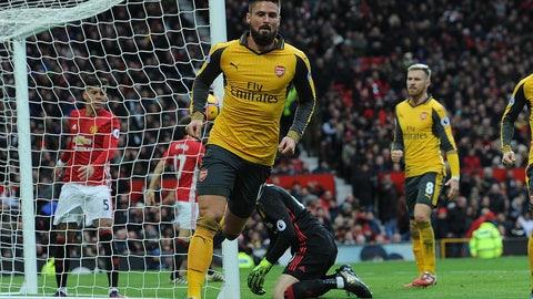 Sunday: Arsenal vs. Bournemouth