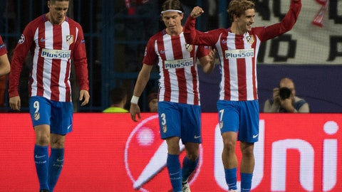 Atletico Madrid, Group D winners