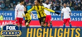 Aubameyang's first-half hat trick vs. Hamburg | 2016-17 Bundesliga Highlights