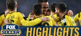 Pulisic sets up Aubameyang's fourth goal vs. Hamburg | 2016-17 Bundesliga Highlights