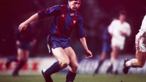 Bernd Schuster (Barcelona - 1980-88, Real Madrid 1988-90)