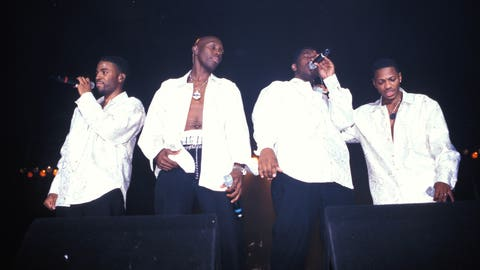 "Blackstreet's ""No Diggity"" featuring Dr. Dre knocked ""Macarena"" off the Billboard Hot 100 top spot"