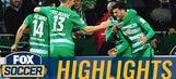 Grillitsch's excellent finish gives Bremen 1-0 lead vs. Frankfurt | 2016-17 Bundesliga Highlights