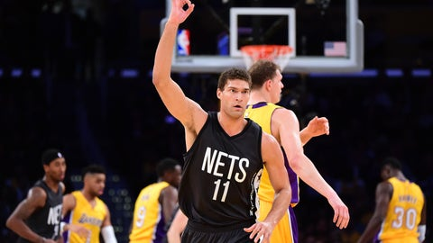 To Brooklyn for Brook Lopez and 2019, 2020 first-round draft picks