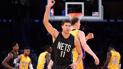 Brooklyn Nets: Brook Lopez, 3-point sniper