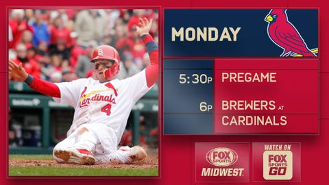Yairo Munoz out of Cardinals' lineup on Wednesday