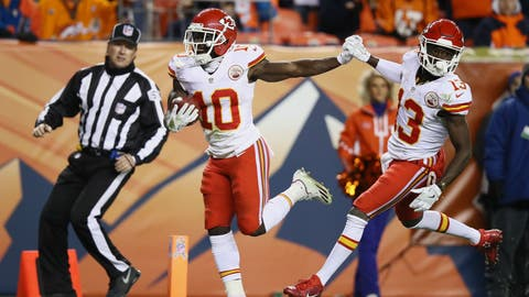 AFC #5 seed: Kansas City Chiefs (8-3)