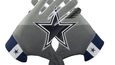 NFL stadium gloves