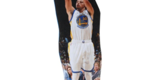 Stephen Curry Player Printed Pillow