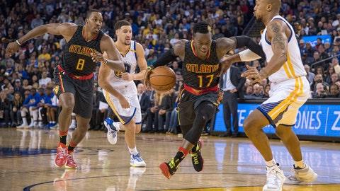 Atlanta Hawks vs. Golden State Warriors: +4800 (48/1)