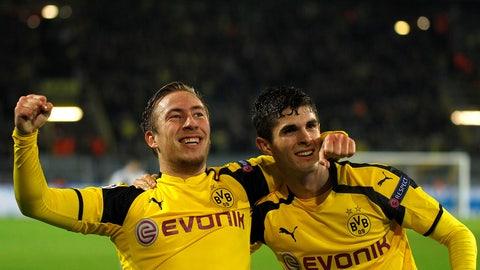Borussia Dortmund, Group F winners
