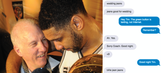 Eight adorable (and fictional) text conversations between Gregg Popovich and Tim Duncan