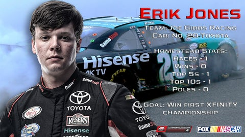Erik Jones' career highlights