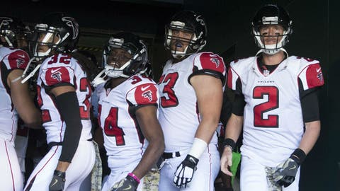 NFC #4 seed: Atlanta Falcons (6-4)