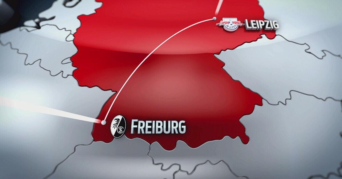 freiburg leipzig highlights