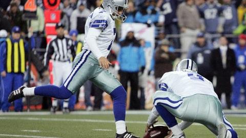 Tony Romo's botched hold