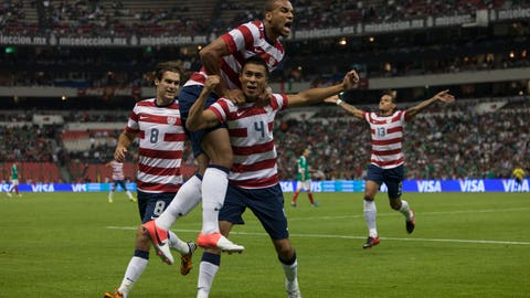 A historic win at the Azteca